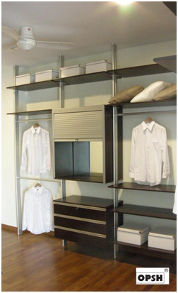 Everything Is At A Glance And If You Do Not Have Space For A Walk In  Wardrobe, Why Not An Open Concept Pole System Wardrobe?